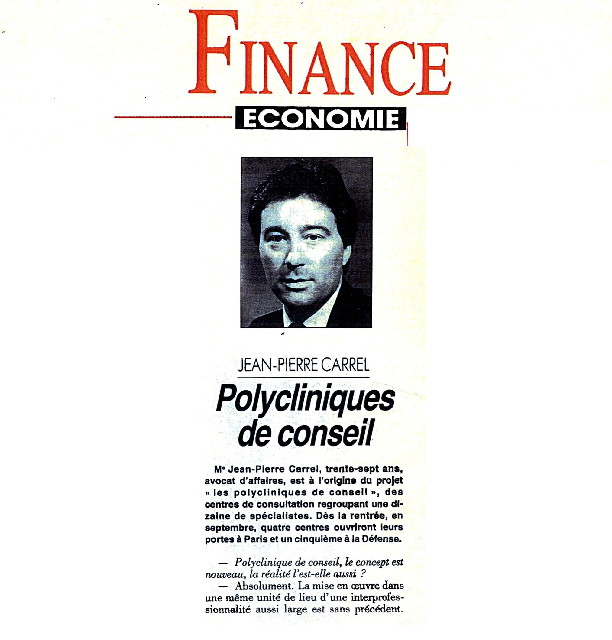 Finance-Economie